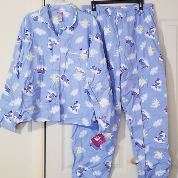 94bb83a36dbae Disney Intimates & Sleepwear | New Winnie The Pooh Flannel Pajama ...